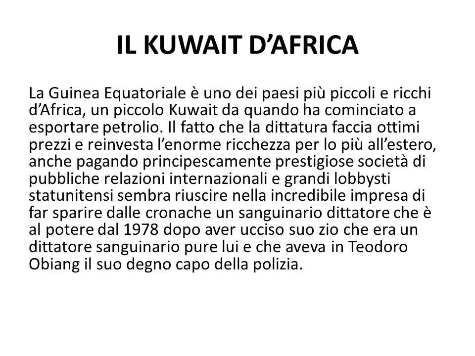 IL KUWAIT D'AFRICA