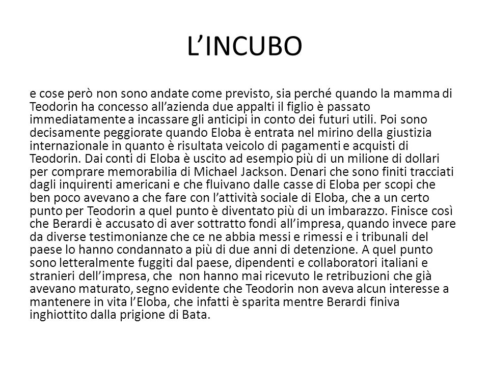 L'INCUBO