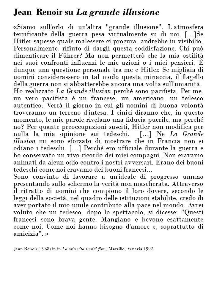 Jean Renoir su La grande illusione