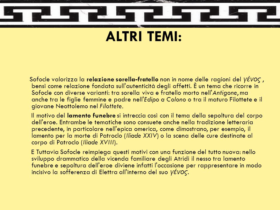 ALTRI TEMI:
