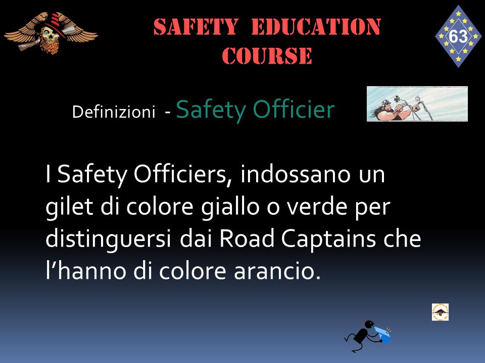SAFETY EDUCATION course