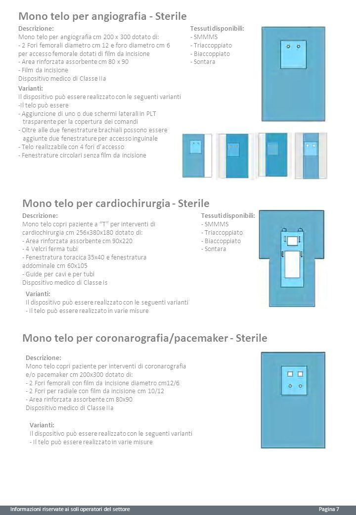 Mono telo per angiografia - Sterile