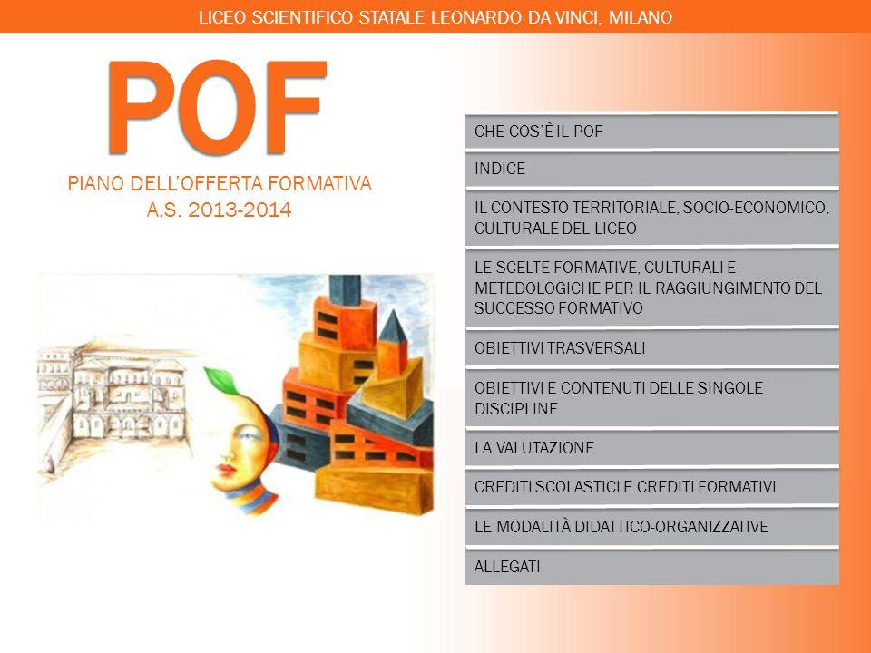 POF PIANO DELL'OFFERTA FORMATIVA A.S. 2013-2014