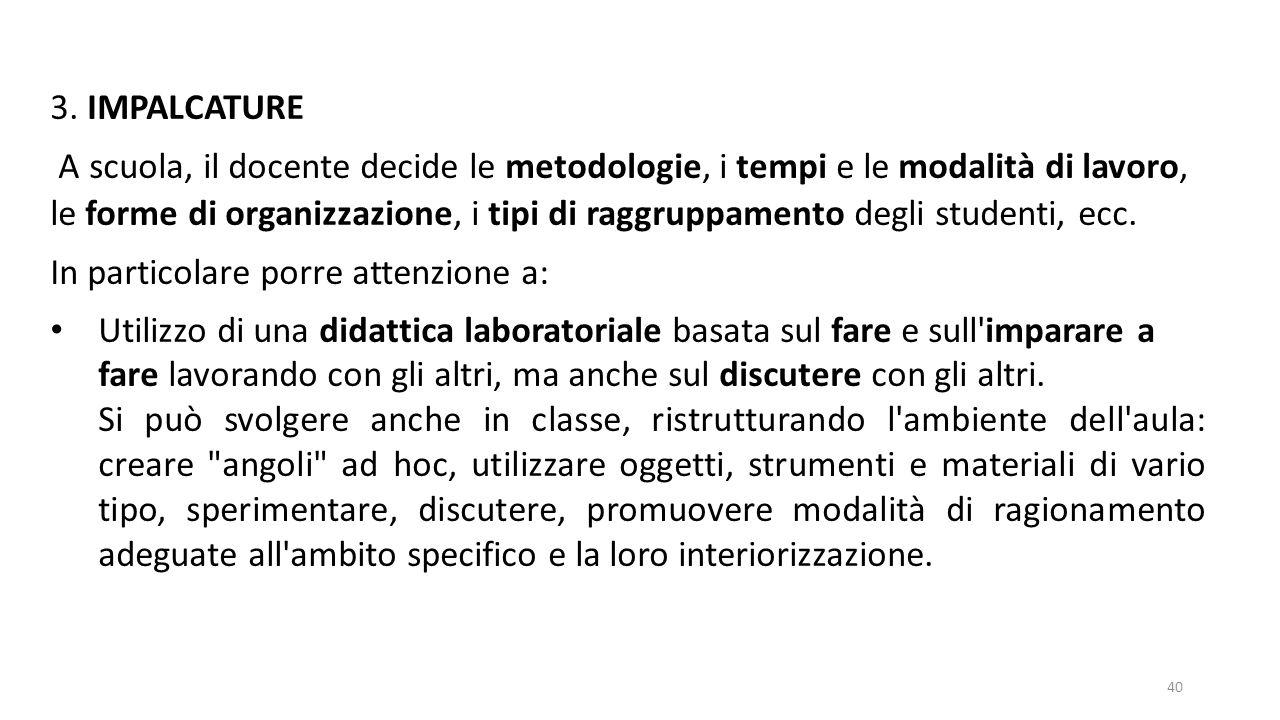 3. IMPALCATURE