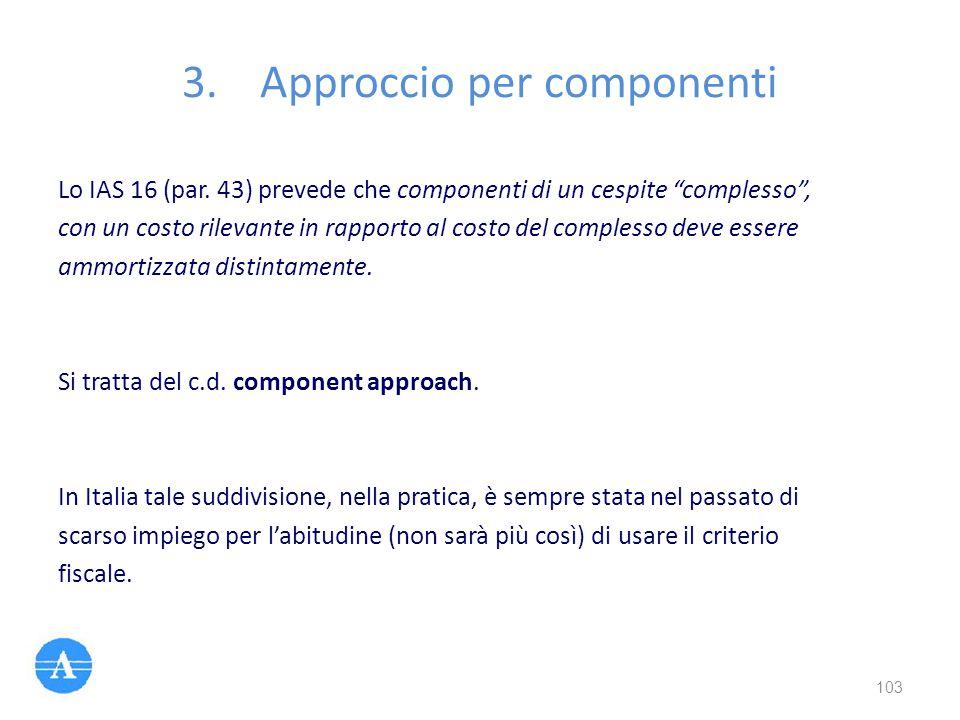 Approccio per componenti