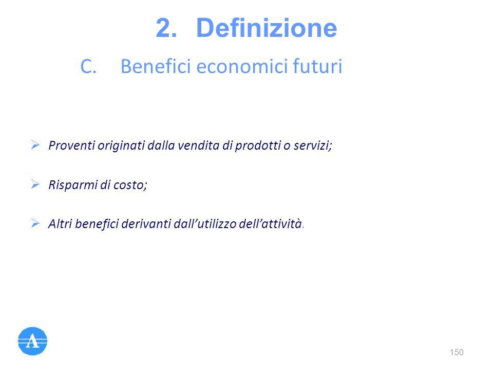 Benefici economici futuri