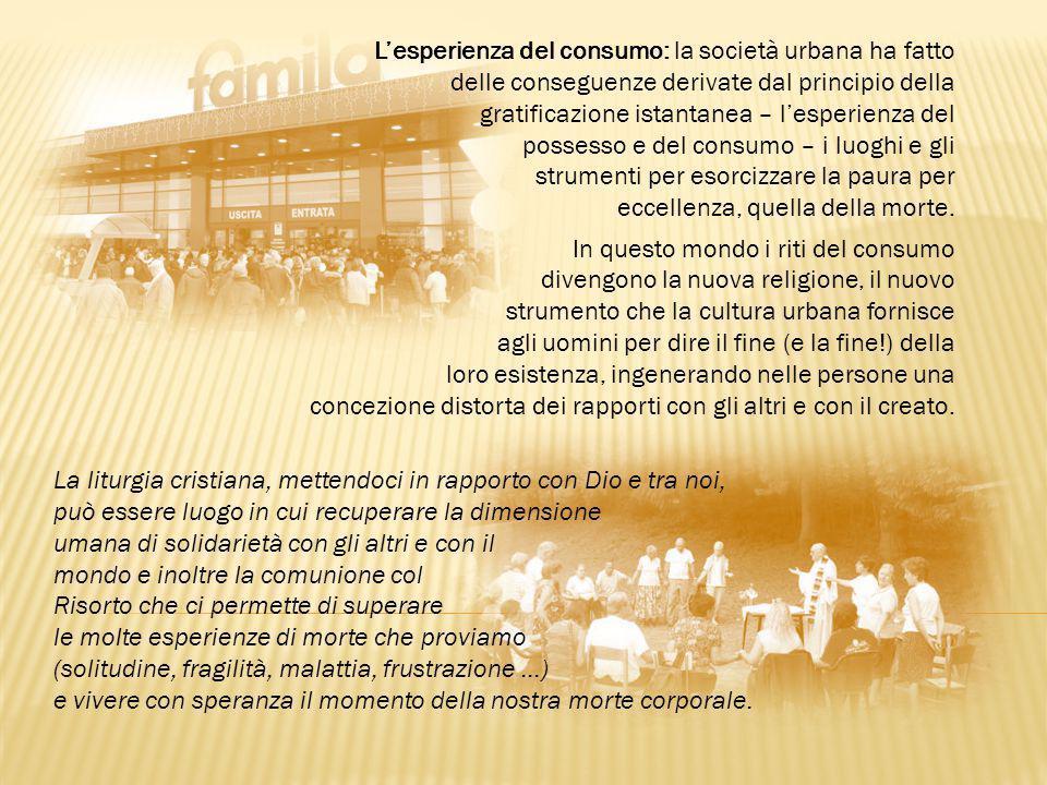 L'esperienza del consumo: la società urbana ha fatto