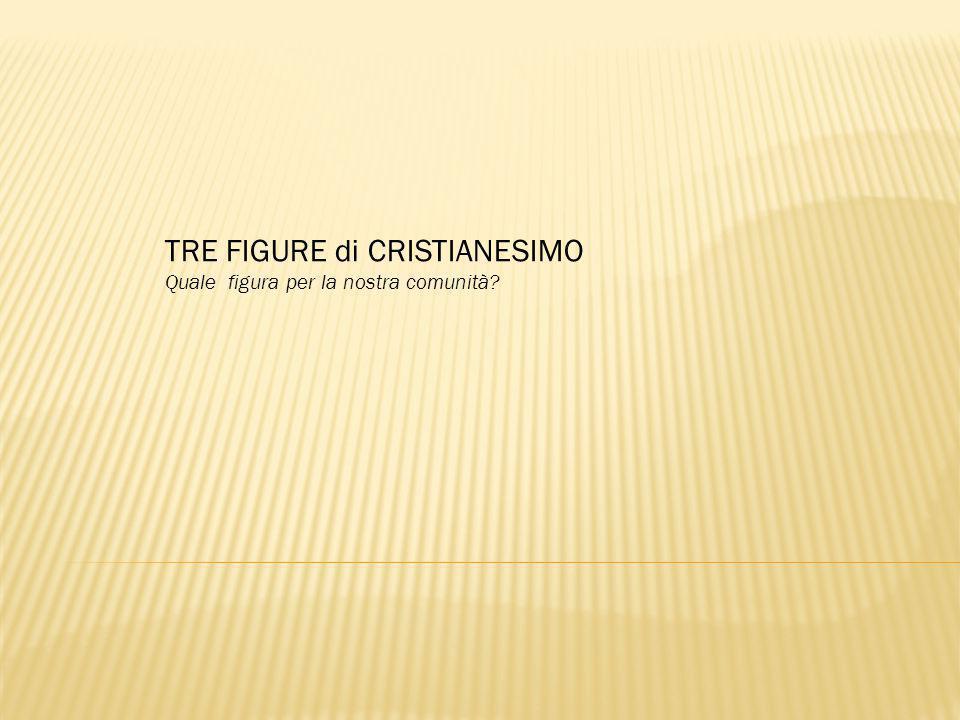 TRE FIGURE di CRISTIANESIMO