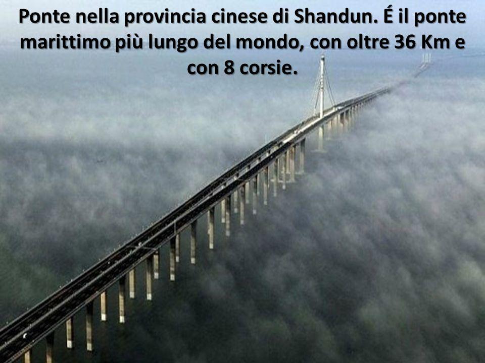 Ponte nella provincia cinese di Shandun