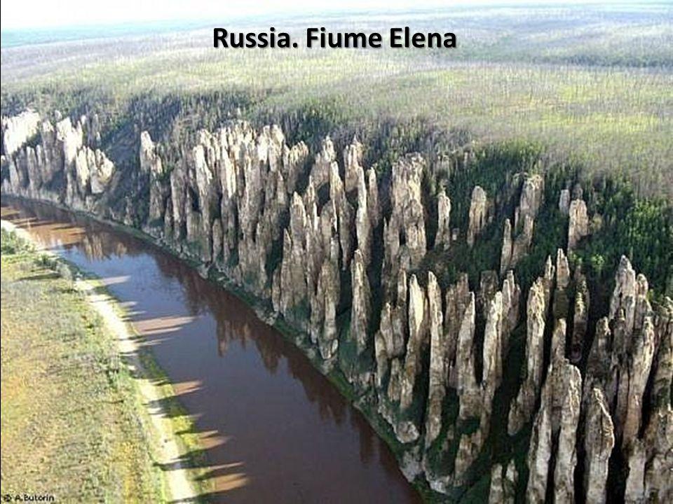 Russia. Fiume Elena