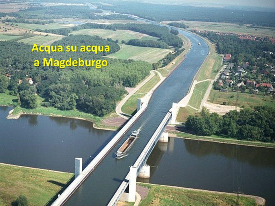 Acqua su acqua a Magdeburgo