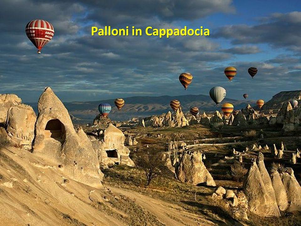 Palloni in Cappadocia