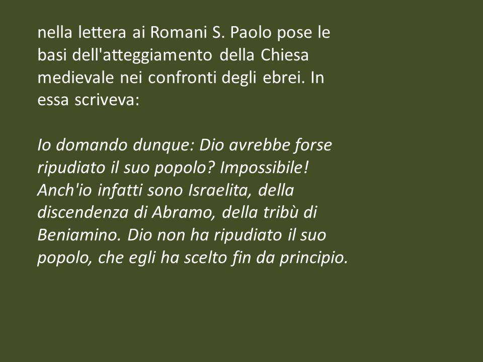 nella lettera ai Romani S