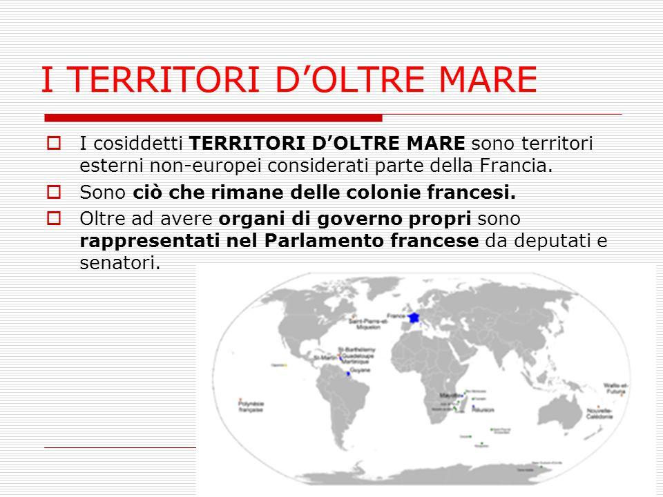 I TERRITORI D'OLTRE MARE
