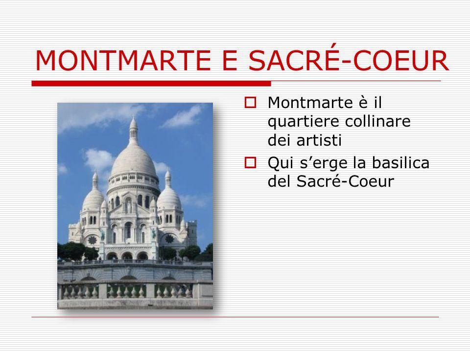 MONTMARTE E SACRÉ-COEUR