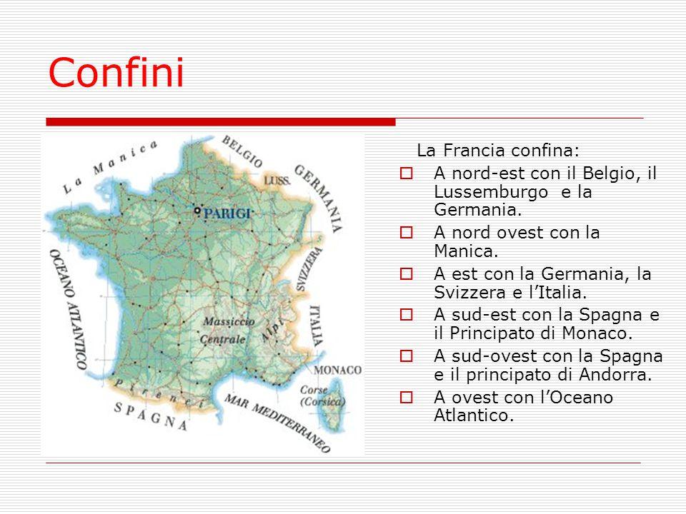 Confini La Francia confina: