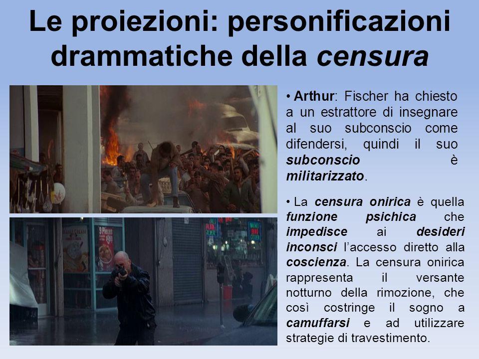 Le proiezioni: personificazioni drammatiche della censura