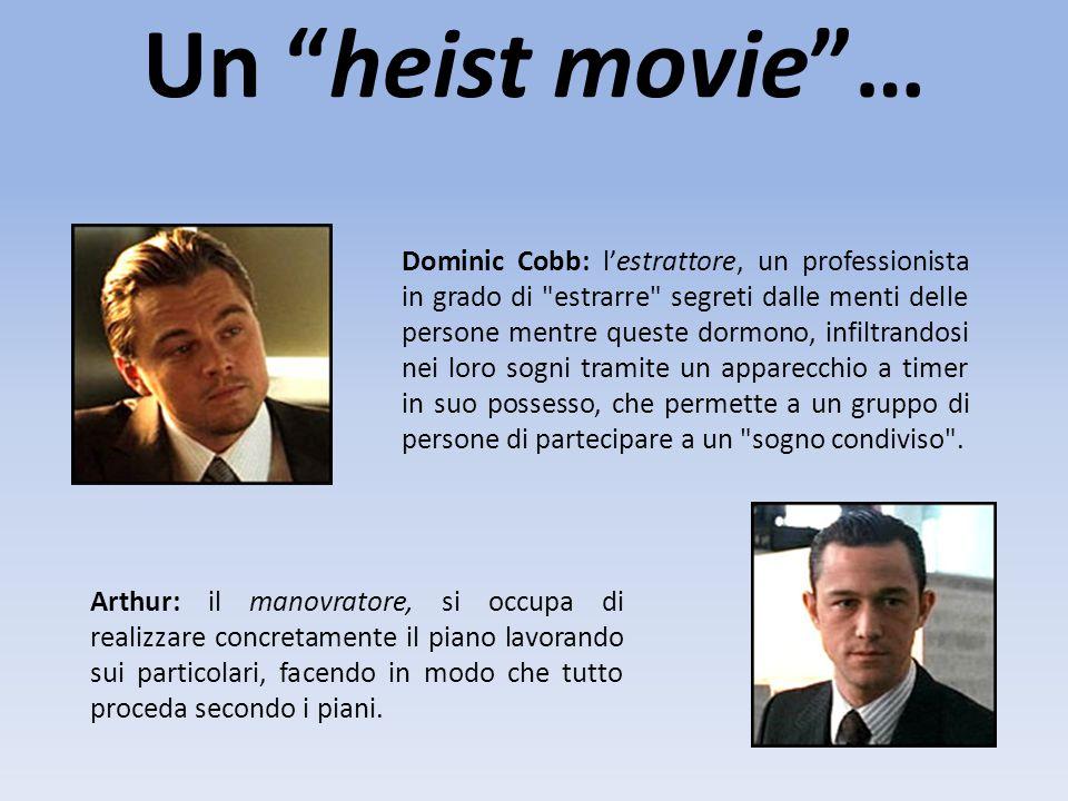 Un heist movie …