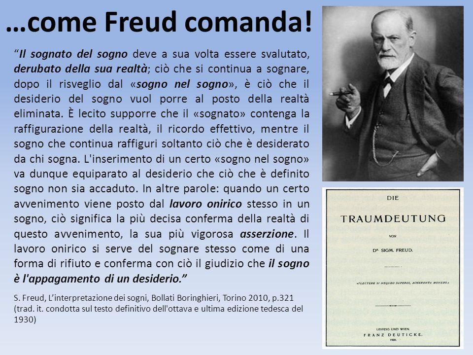 …come Freud comanda!