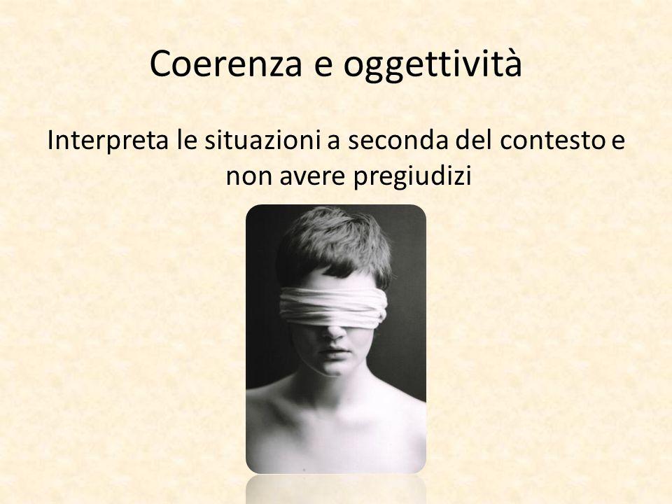 Coerenza e oggettività