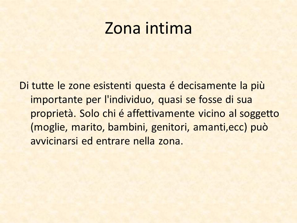 Zona intima