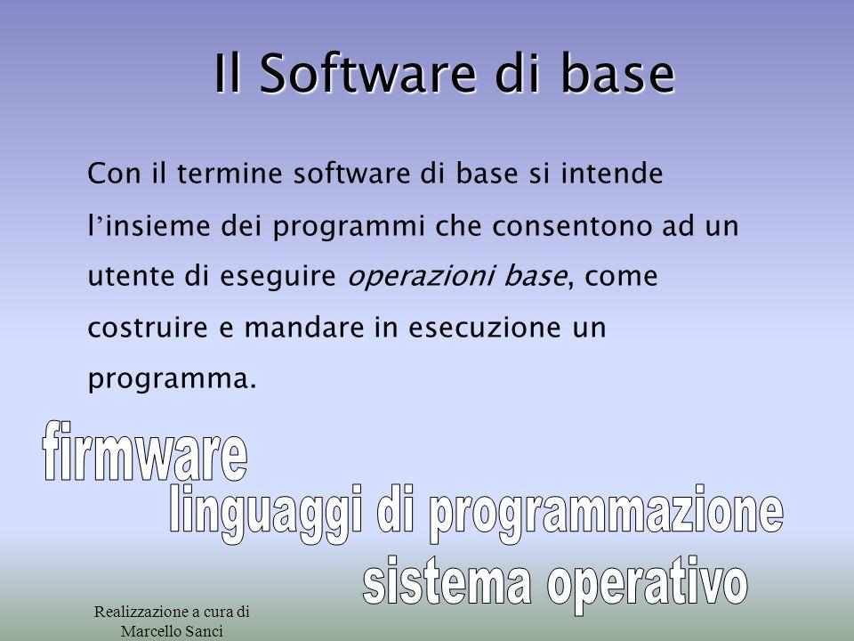 Il Software di base firmware linguaggi di programmazione
