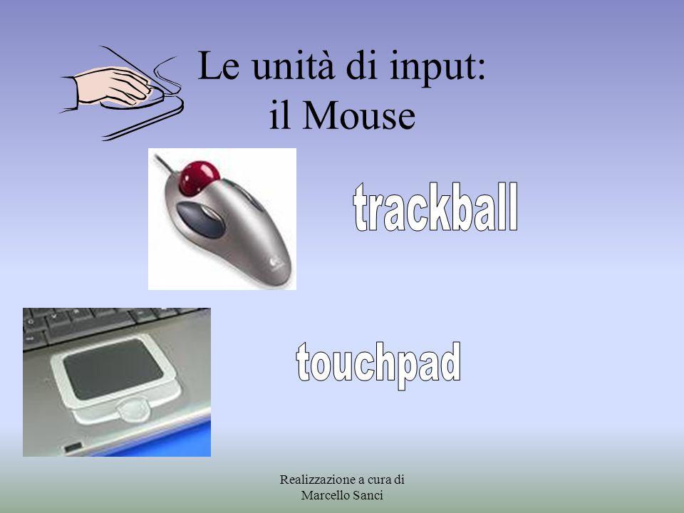 Le unità di input: il Mouse