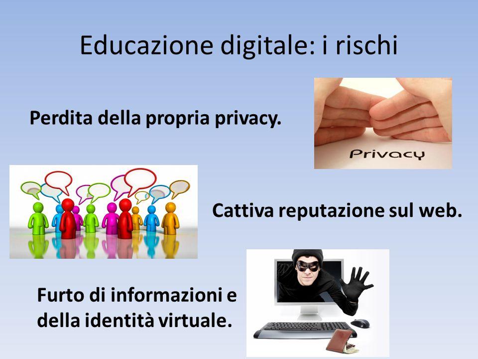 Educazione digitale: i rischi
