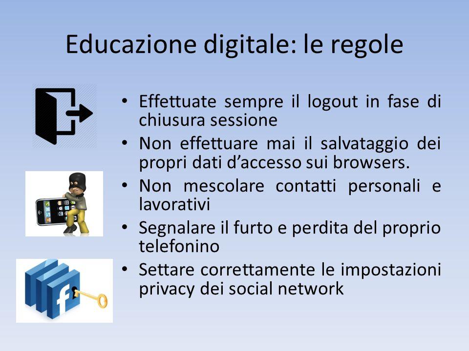 Educazione digitale: le regole