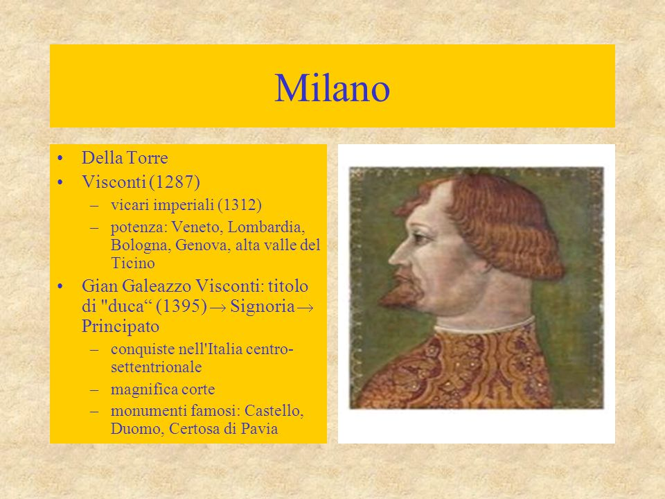 Milano Della Torre Visconti (1287)
