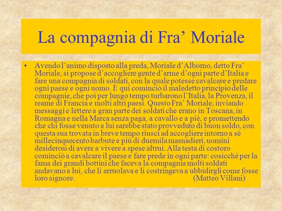La compagnia di Fra' Moriale