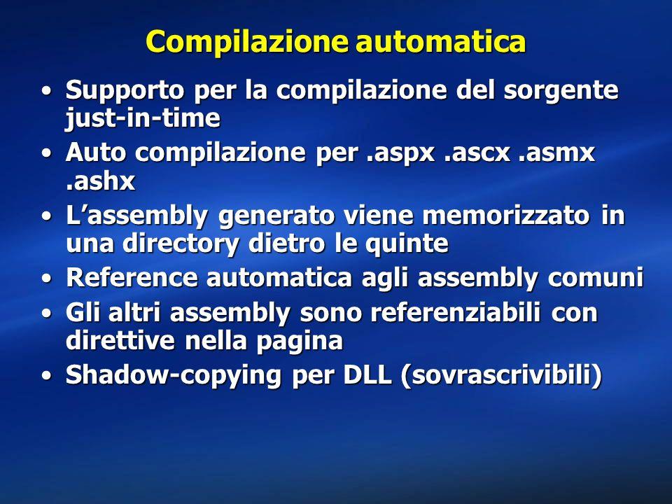 Compilazione automatica