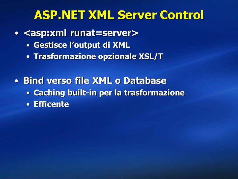 ASP.NET XML Server Control