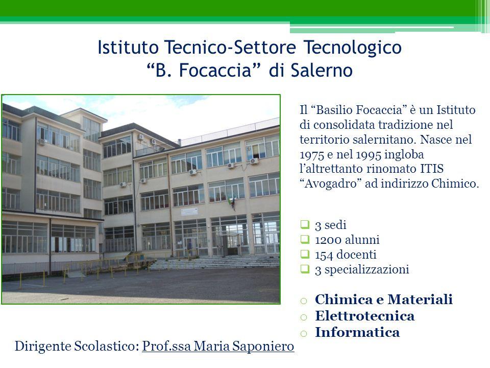 Istituto Tecnico-Settore Tecnologico B. Focaccia di Salerno