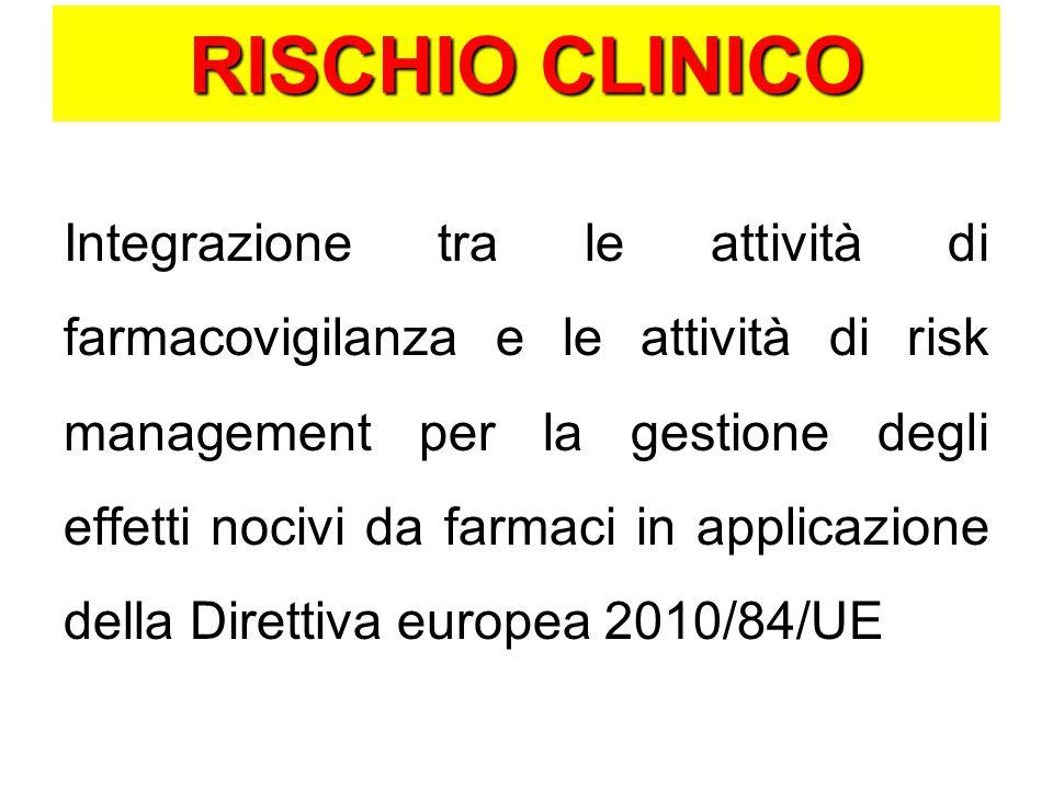 RISCHIO CLINICO