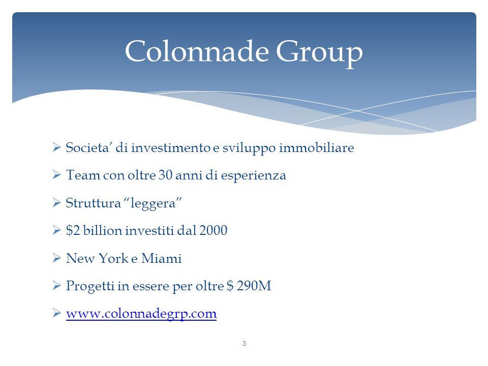 Colonnade Group Societa' di investimento e sviluppo immobiliare
