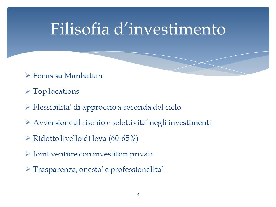 Filisofia d'investimento