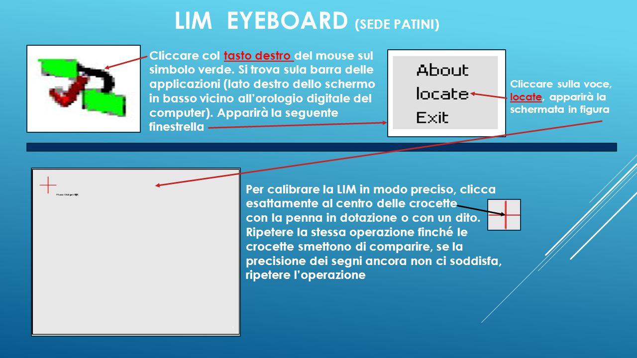 LIM EYEBOARD (SEDE PATINI)