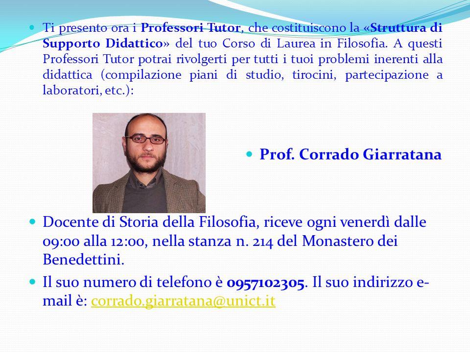 Prof. Corrado Giarratana