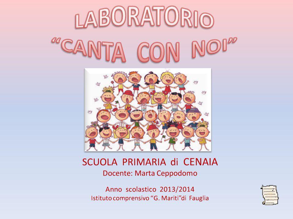 LABORATORIO CANTA CON NOI