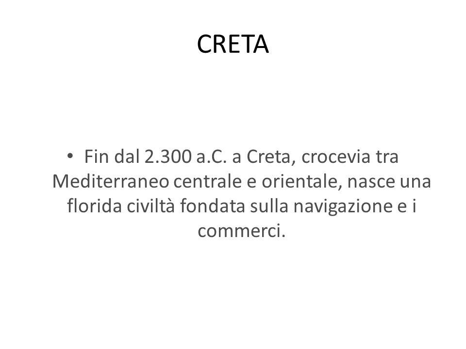 CRETA Fin dal 2.300 a.C.