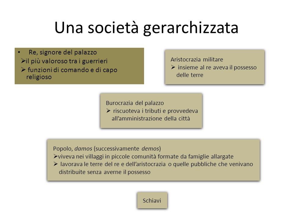 Una società gerarchizzata