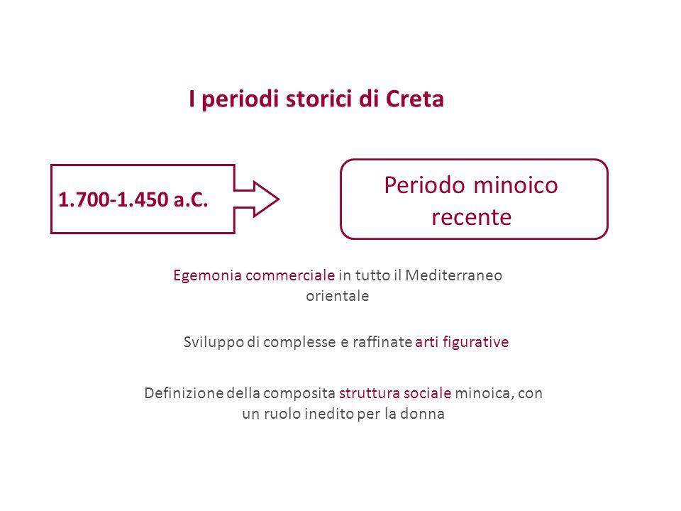 I periodi storici di Creta