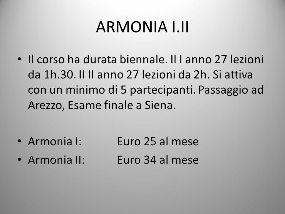 ARMONIA I.II