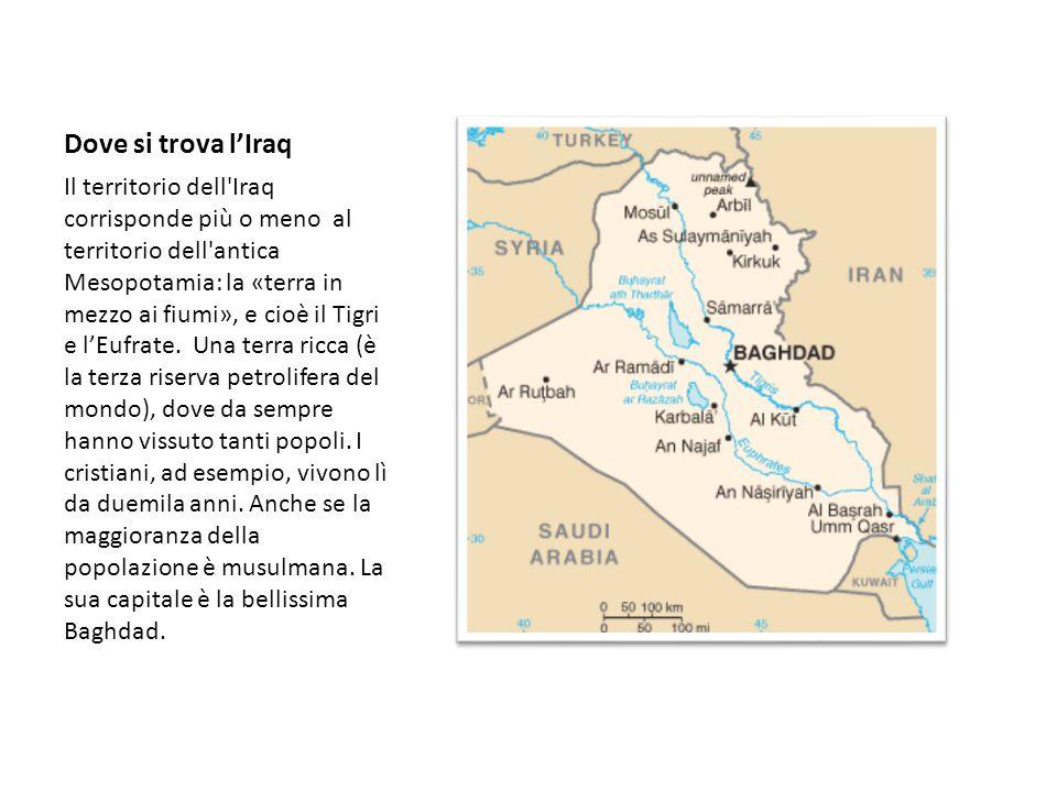 Dove si trova l'Iraq