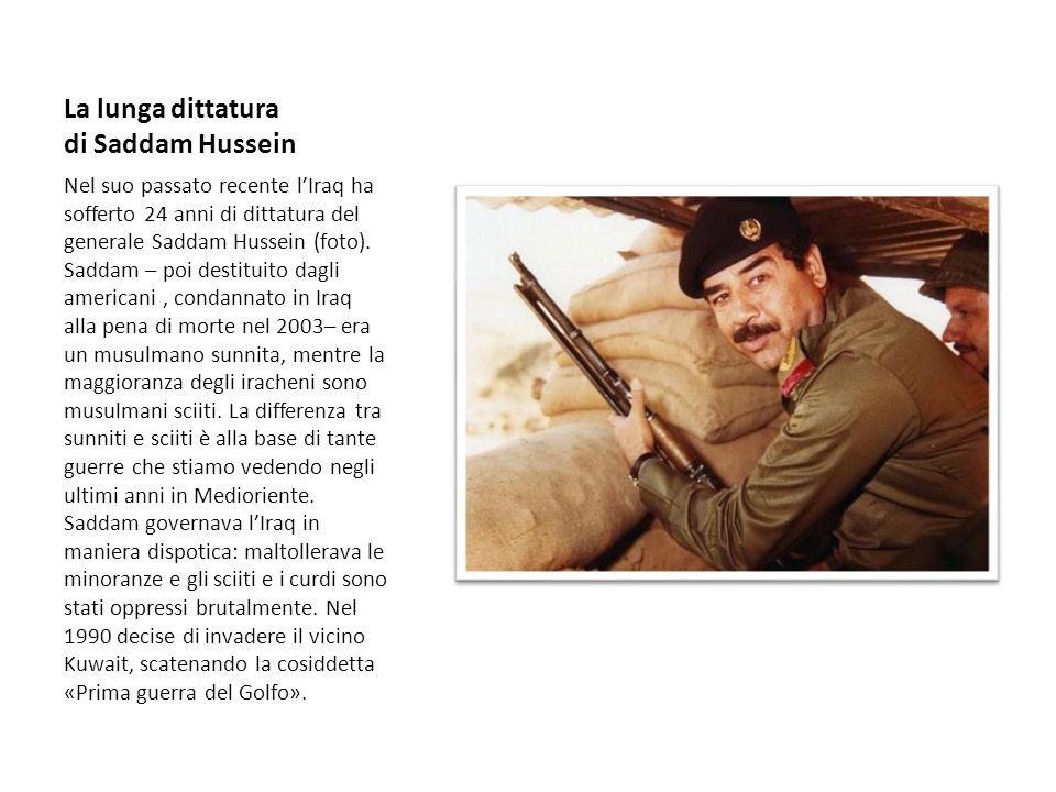 La lunga dittatura di Saddam Hussein