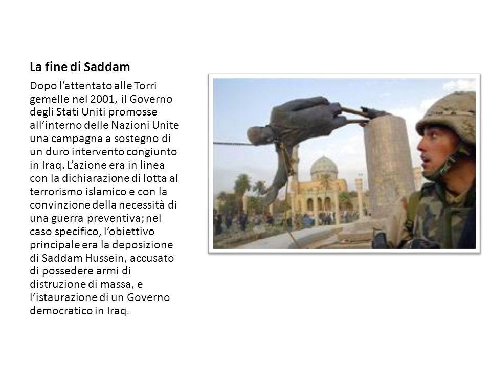 La fine di Saddam