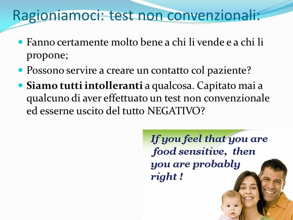 Ragioniamoci: test non convenzionali: