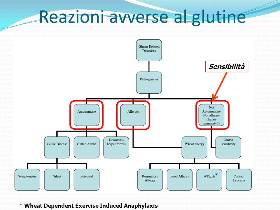 Reazioni avverse al glutine