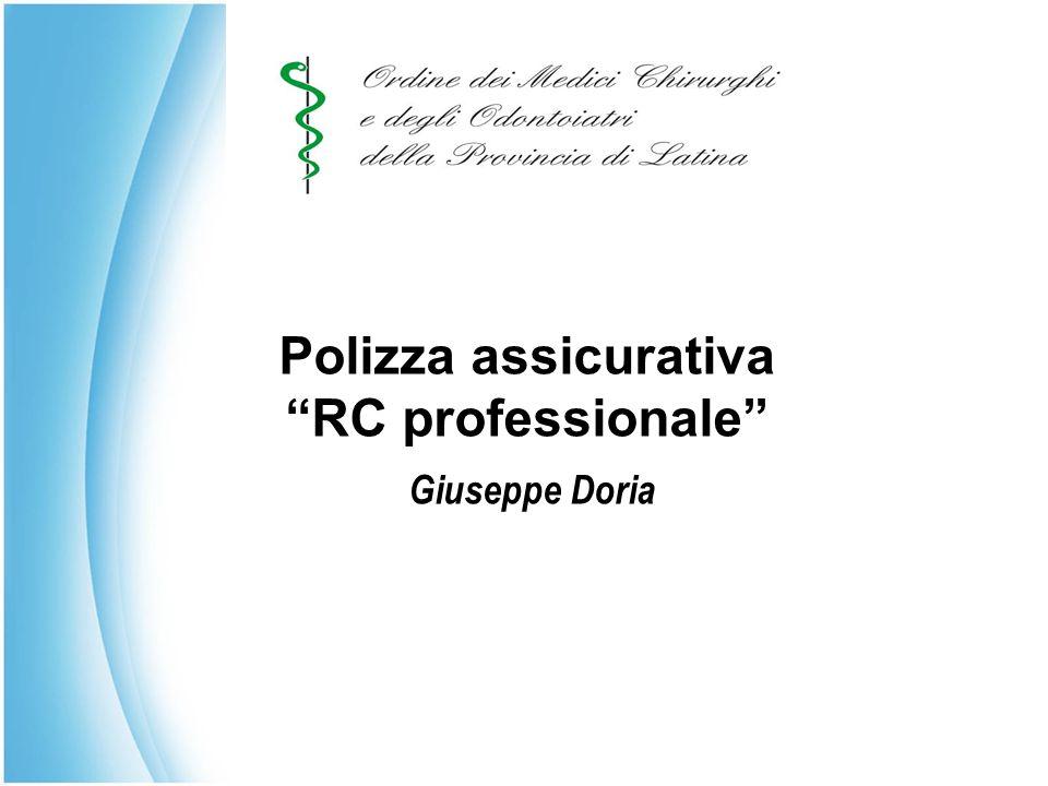 Polizza assicurativa RC professionale